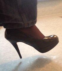 5inch Stiletto heel courts