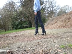 "5"" heeled boots"